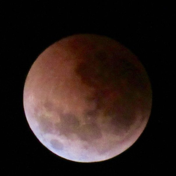 Moon Eclipse July 2018